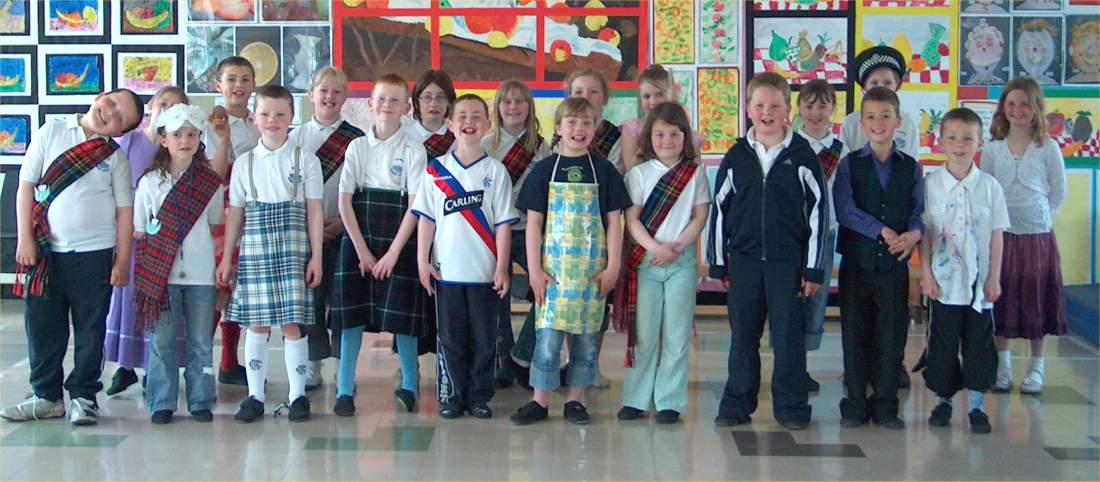 Photo: Hillhead P4 Dramatised Song Runners Up