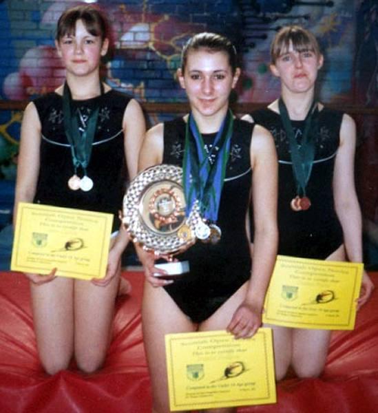 Photo: Gymnasts Success