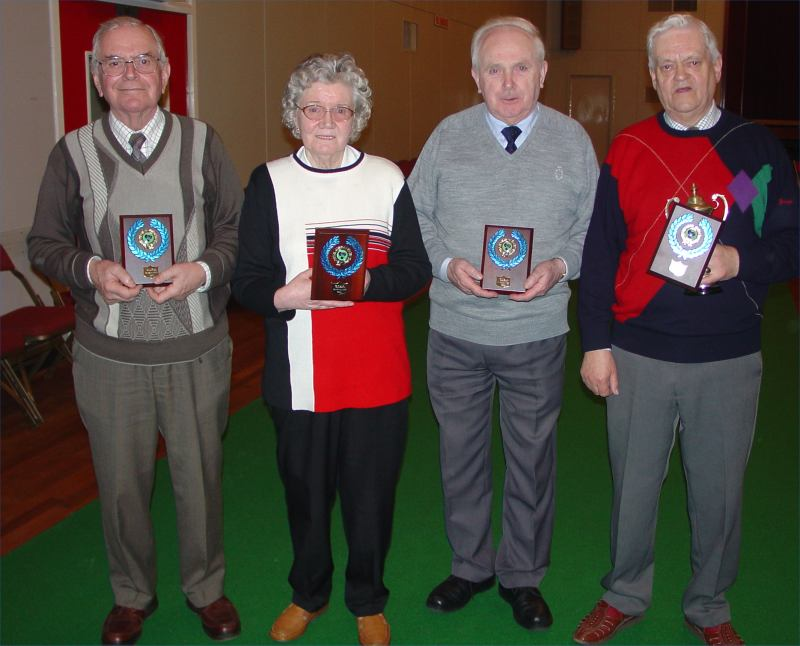 Photo: Winners 2004 County Rinks Indoor Bowls