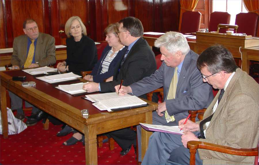 Photo: Council Press Conference On Maternity Services In Caithness