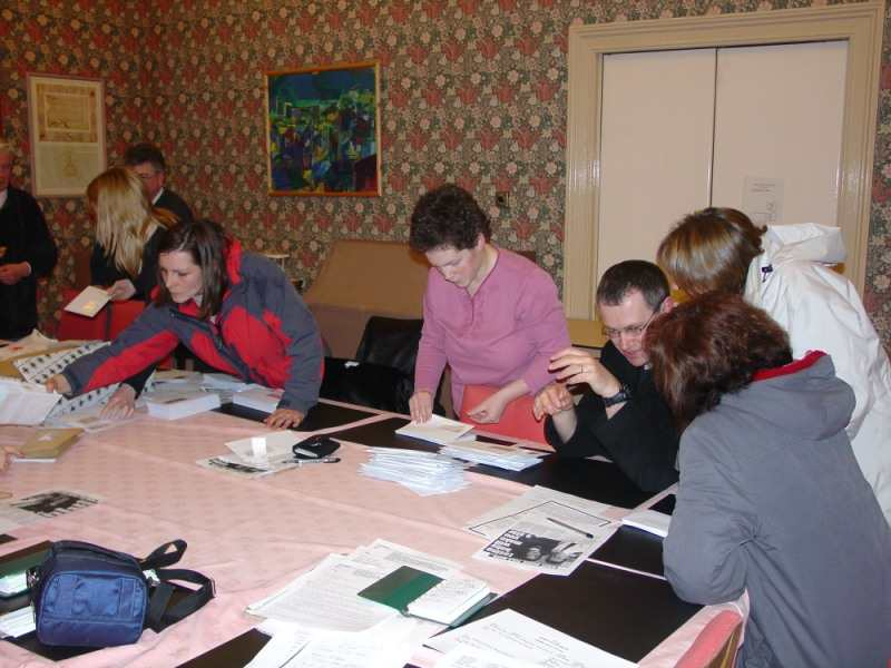 Photo: Preparing Support Letters
