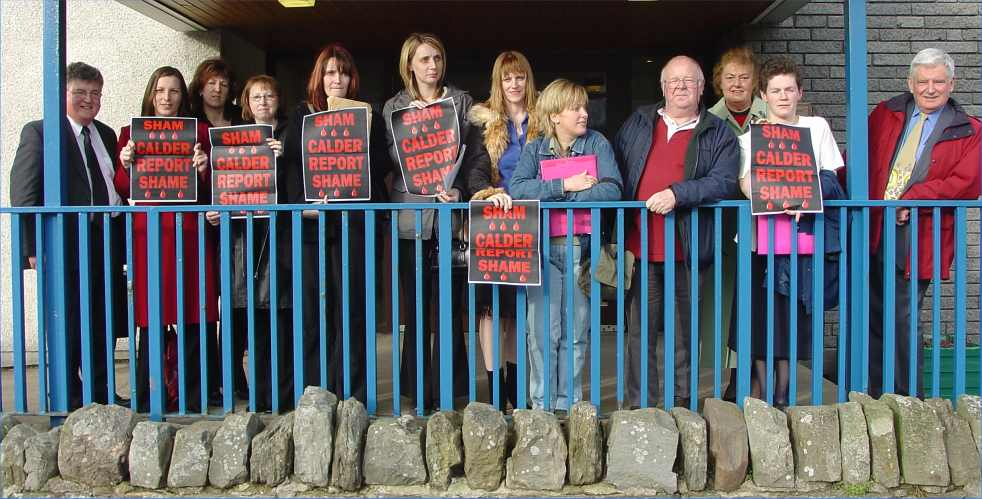 Photo: North Action Group After The Health Board Meeting
