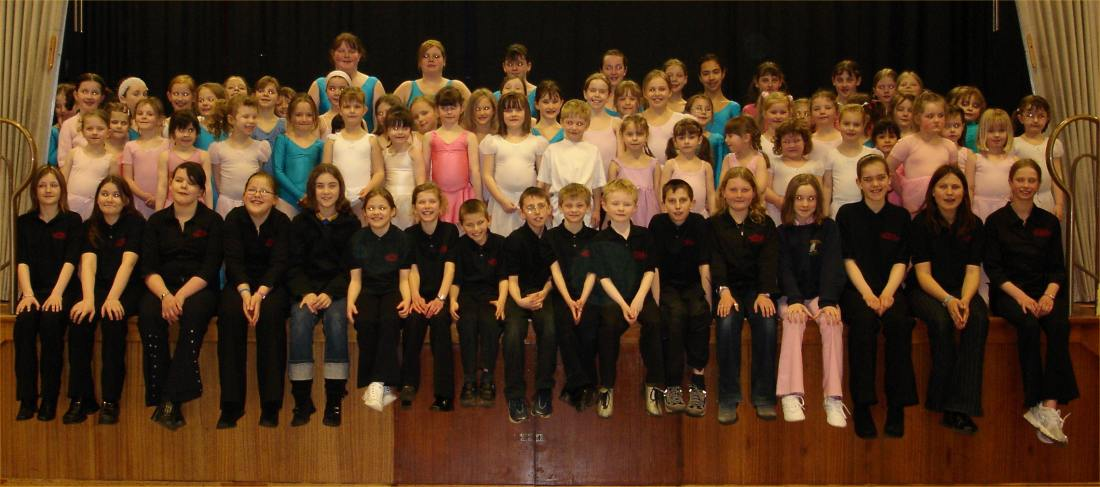 Photo: Caithness and North Sutherland Childrens Choir and Karens Ballet School Show 2005