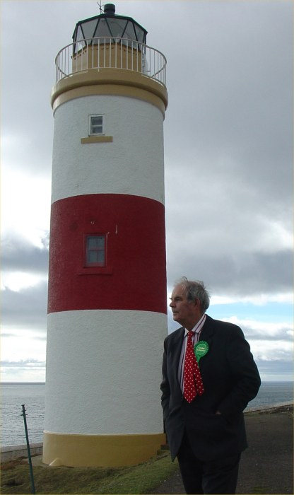 Photo: Gordon Campbell In East Caithness On the Westminster Trail