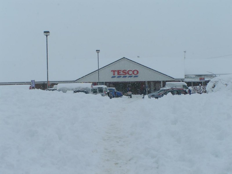 Photo: Could This Be Tesco Wick Next Year - It Is Craigmarloch 24 Hour Cumbernauld