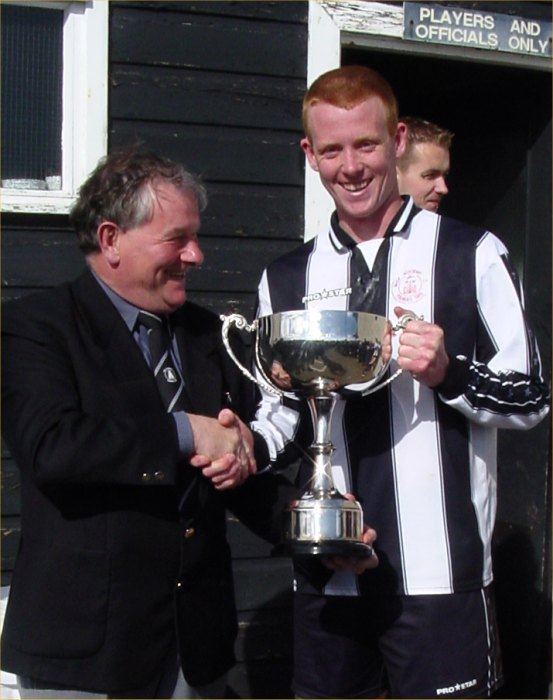 Photo: Alan Sinclair Player Of the Year