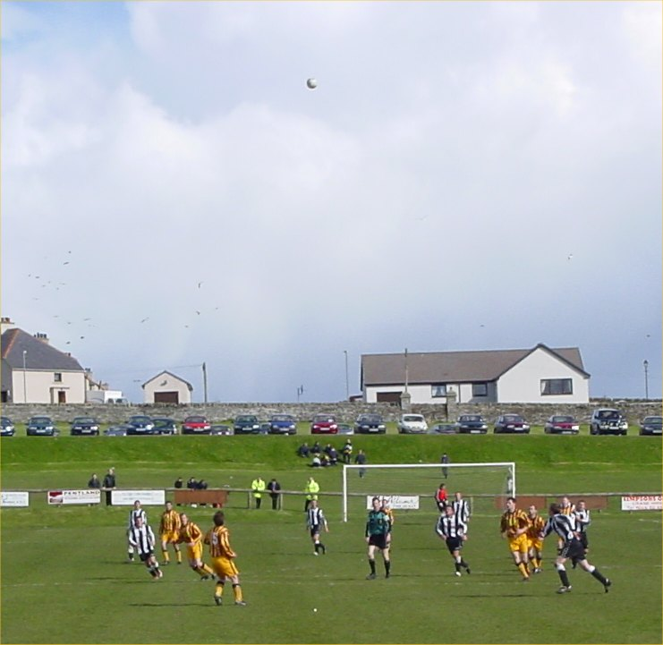Photo: During The Forres Game