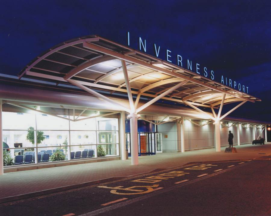 Photo: Inverness Airport