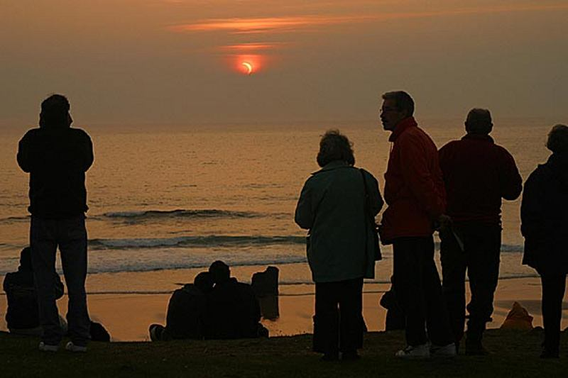Photo: Eclipse At Durness
