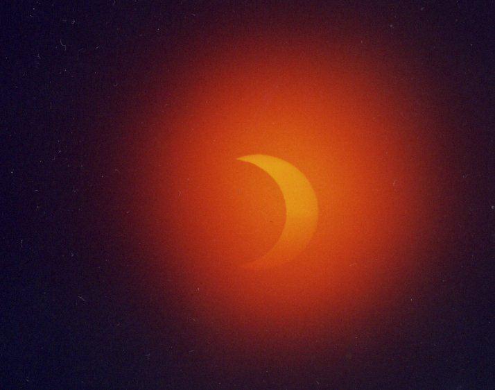 Photo: Eclipse At Strathy