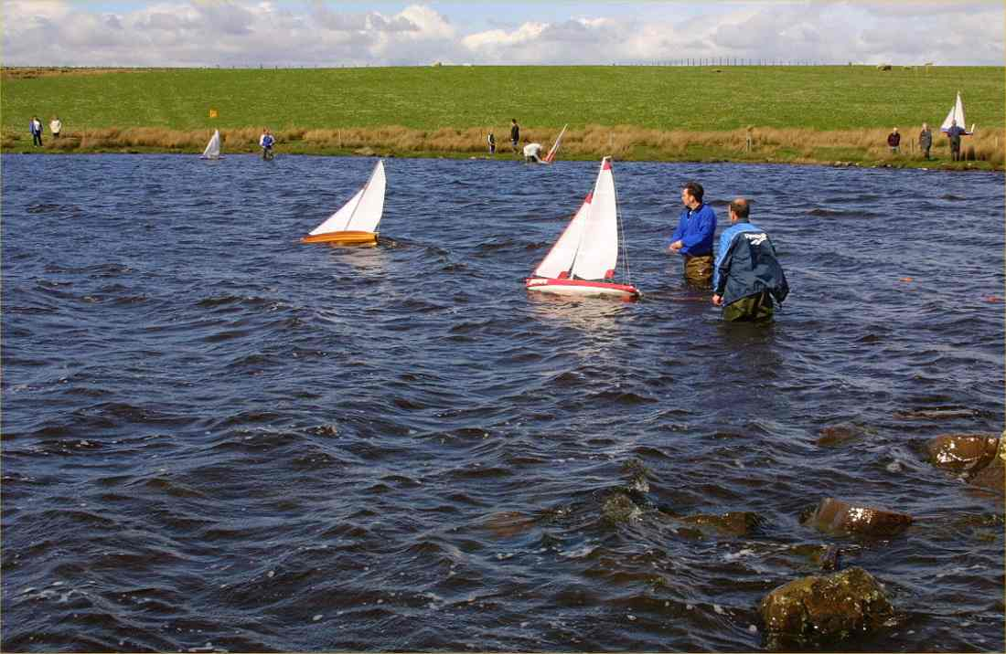 Photo: Competition At Sarclet Loch