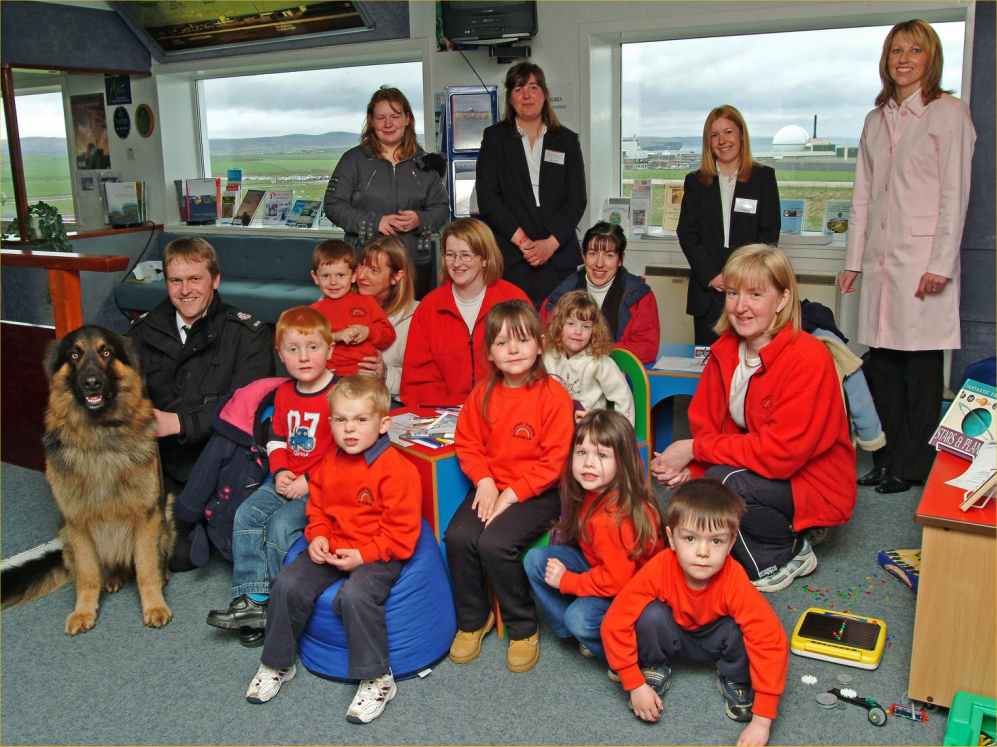 Photo: Canisbay Play Group At Dounreay visitor Centre
