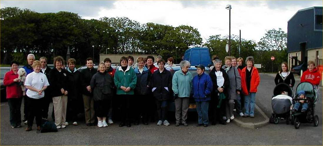 Photo: Walkers Who Took Up the Annual Challenge