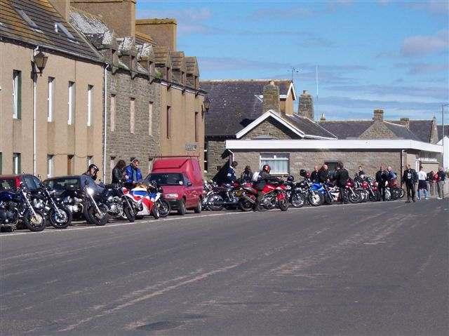 Photo: 2004 Annual Caithness Motor Bike Rally