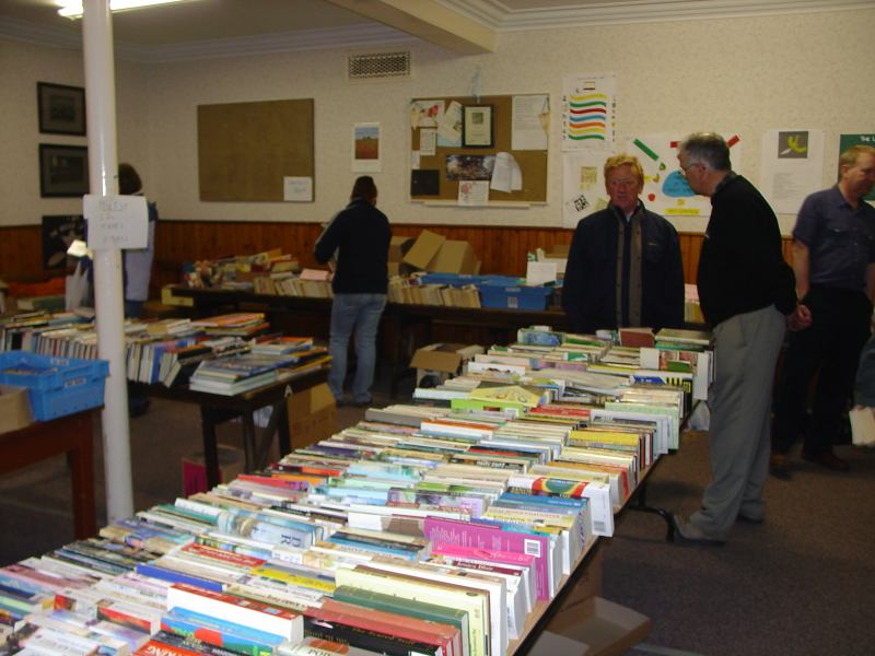 Photo: Wick Rotary Club Book Sale