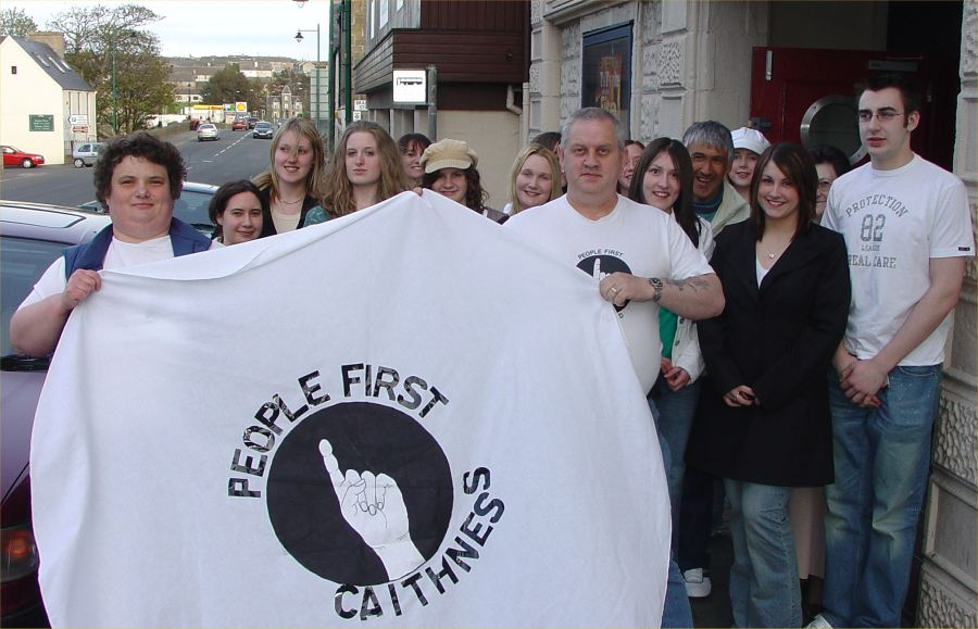 Photo: Peopel First And Thurso High Launch Anti Bullying Video