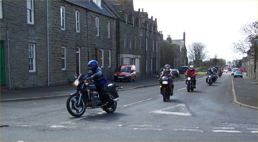 Photo: Bikers Rally Round Caithness - 14 May 2006
