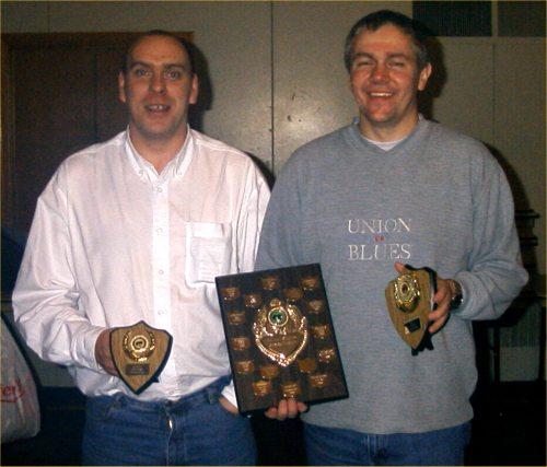 Photo: Winner Brian Harcus and Runner Up Jamie Durrand