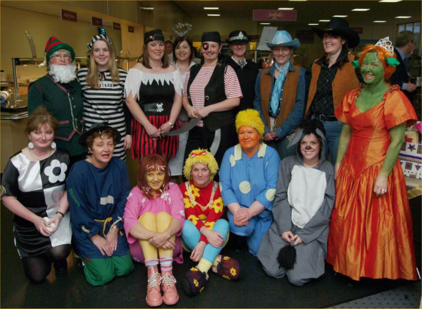 Photo: Johnson Controls Staff Raise £1404 For Children In Need Appeal