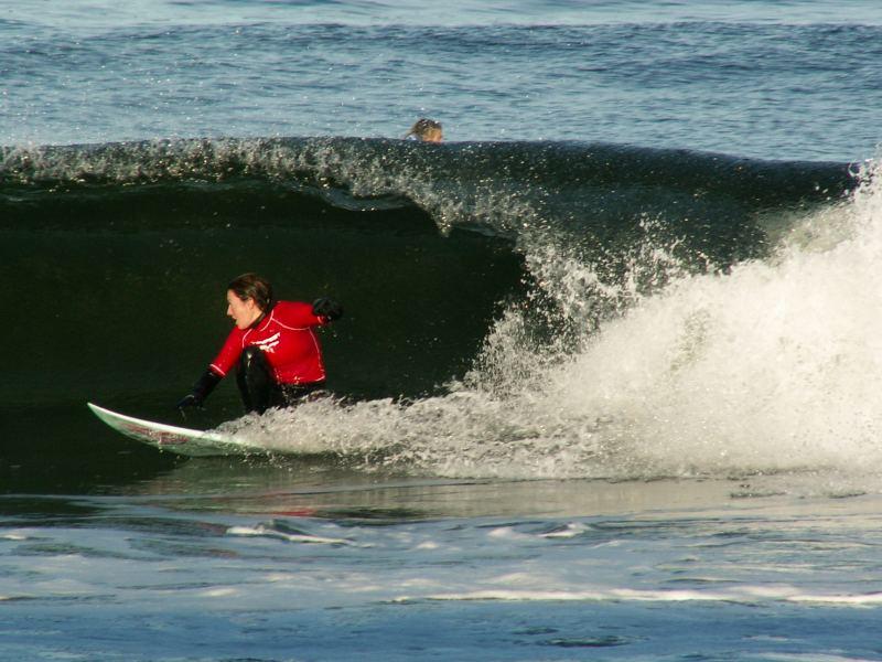Photo: Surfing Competition Thurso 5 November 2005