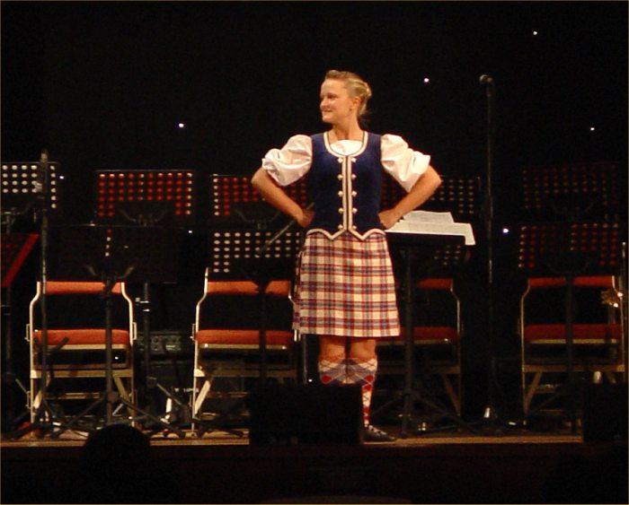 Photo: Tanya Horne Highland Dancing