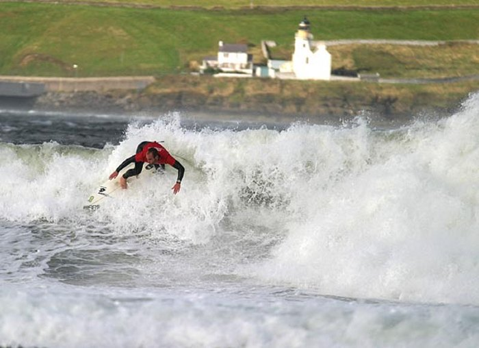 Photo: Scottish Open surf Competition 25 September 2004