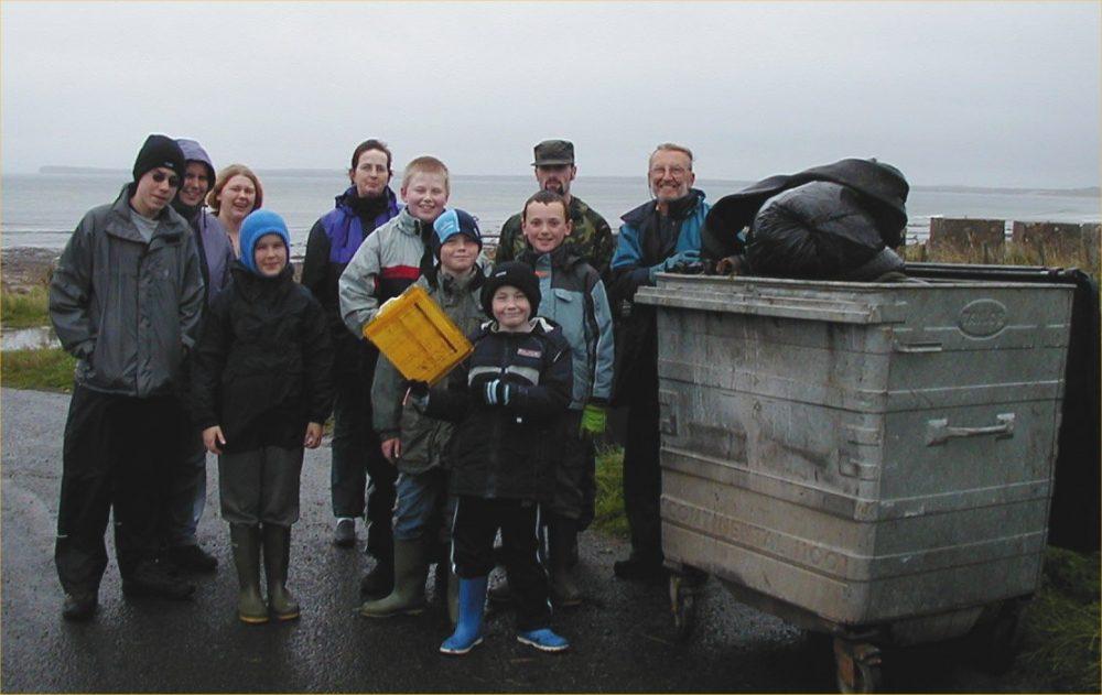Photo: Volunteers Cleaned Keiss Beach