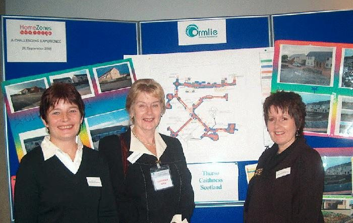 Photo: Ormlie Group At The Home Zone Conference In Edinburgh