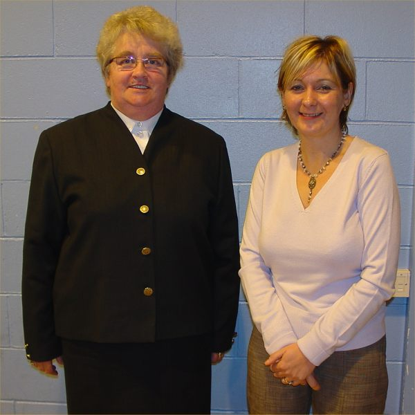 Photo: Lord Lieutenant Ann Dunnet with PPP Manager Katrina MacNab At The 2005 AGM
