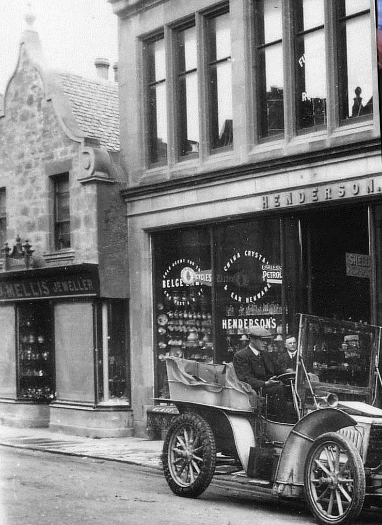 Photo: The Victorian Shop now Mackintosh Brothers Shop, Dingwall