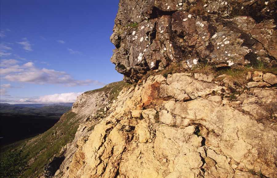 Photo: Knockan Crag, Ross-shire