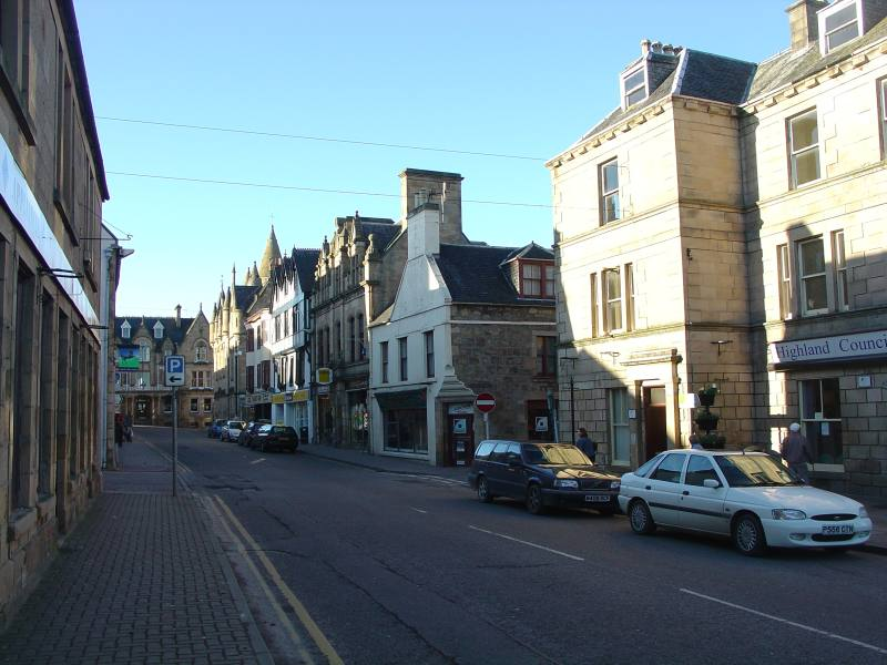 Photo: High Street - Tain