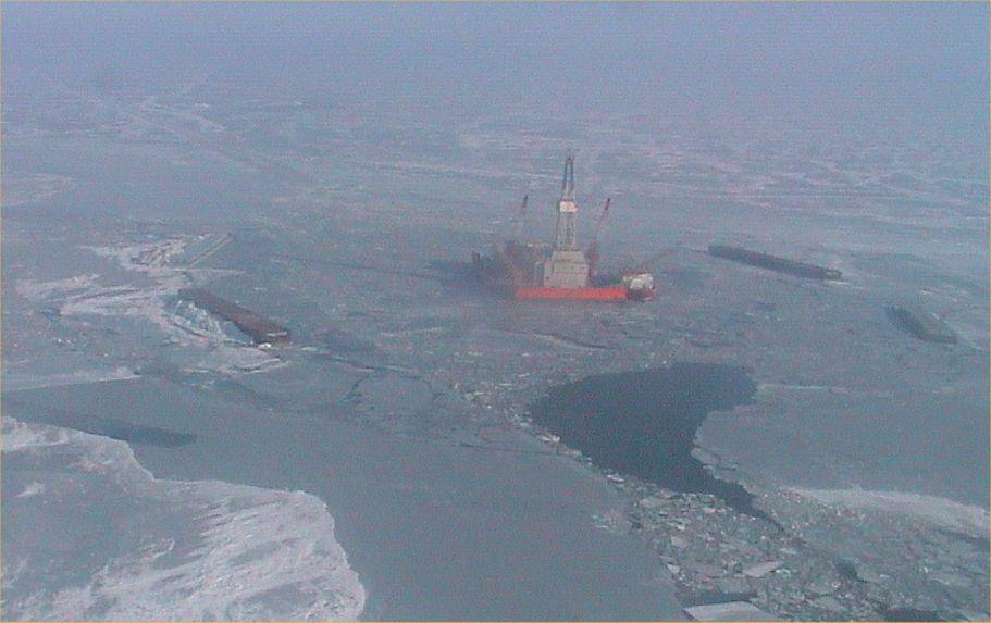 Photo: Sunkar Shallow Water Barge - North Caspian Sea