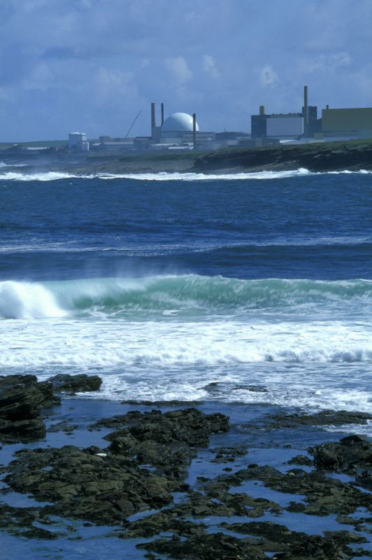 Photo: Dounreay From Sandside Bay