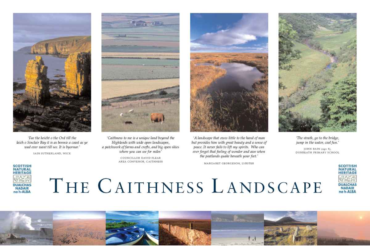 Photo: SNH Poster To Show Caithness Landscapes
