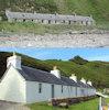 Former fishermen's cotttages at Berriedale transformed by the Landmark Trust