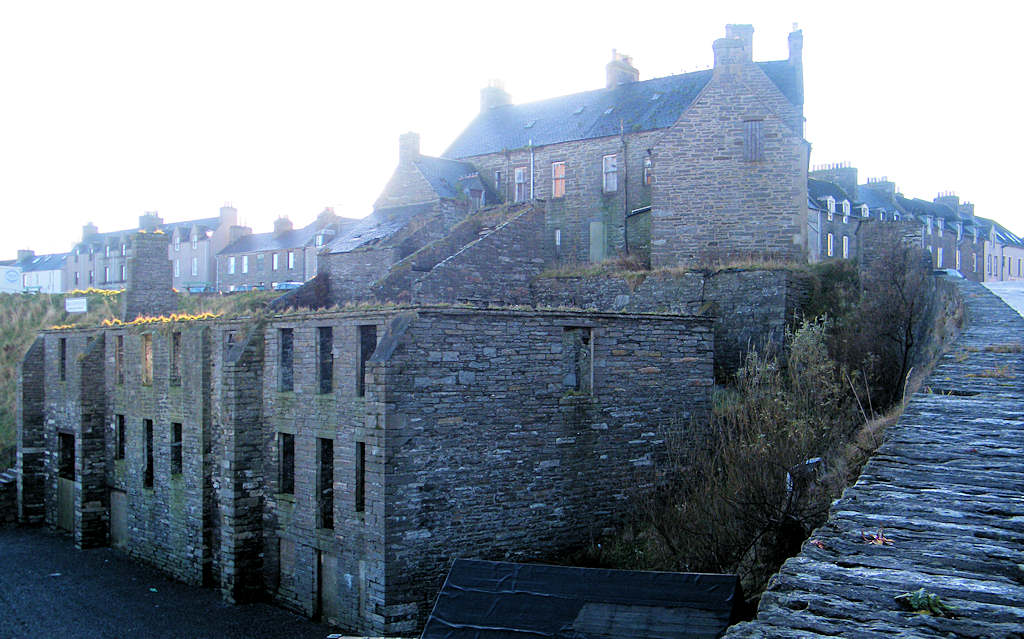 Photo: Warehouse, South Quay, Wick, Caithness