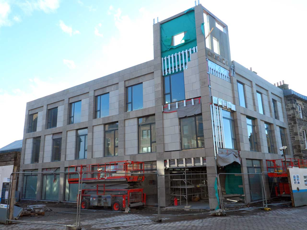 Photo: Wick Council Offices 10 March 2015