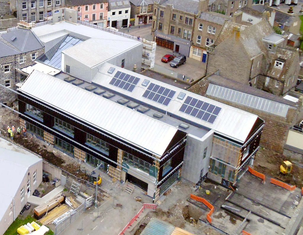 Photo: Wick Council Offices From Above