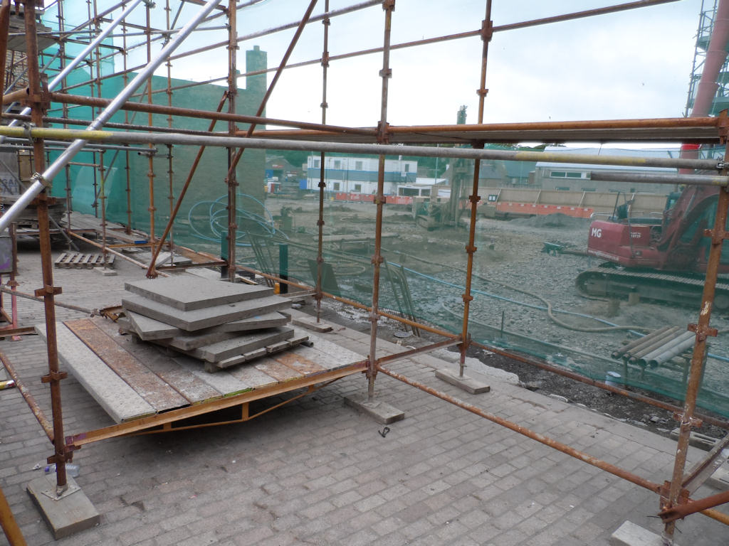 Photo: Wick Council Offices - Site Ready For Construction