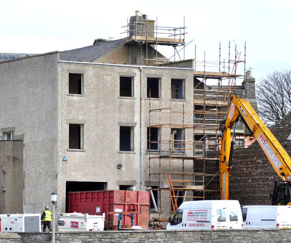Photo: Wick Council Offices - 24 April 2013