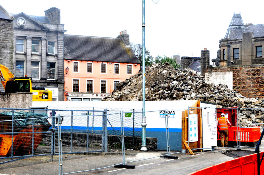 Photo: Wick Council Offices Demolition
