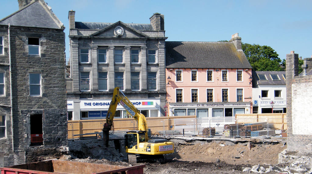 Photo: Wick Council Offices Pile Driving Starts Soon