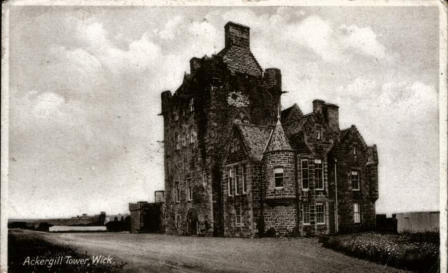 Photo: Ackergill Tower - 1930s