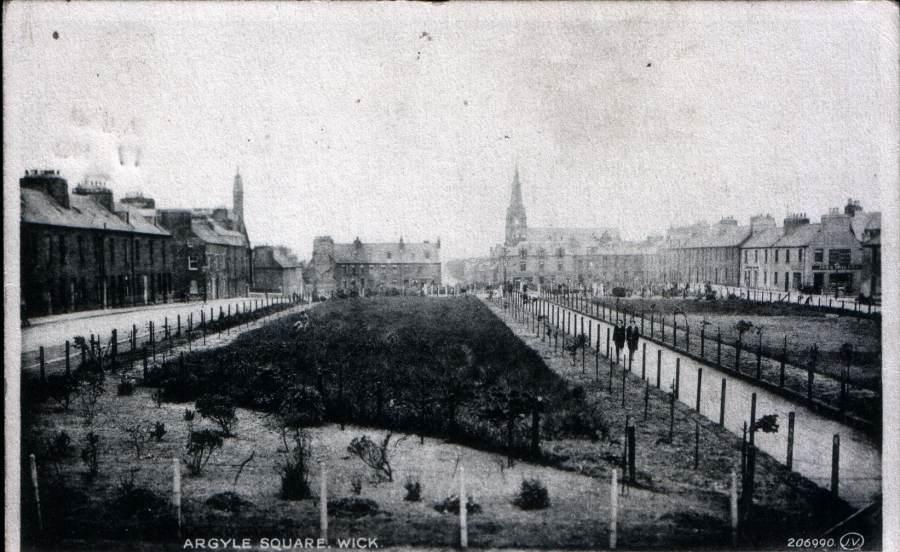 Photo: Argyle Square, Wick - 1930s