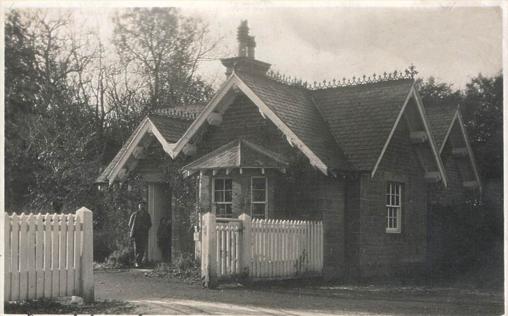 Photo: Barrock Lodge, Lyth - Posted 18 July 1927