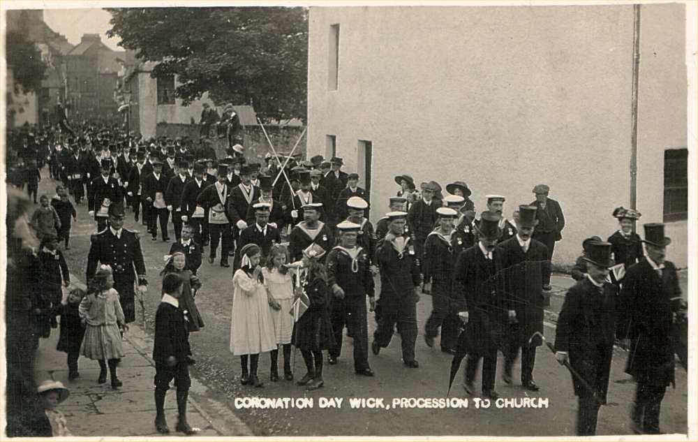 Photo: Coronation Day, wick 1914