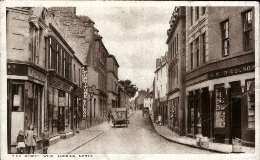 Photo: High St, Wick - Looking North