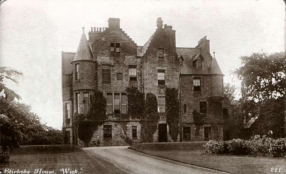 Photo: Stirkoke House - Posted 28 april 1924