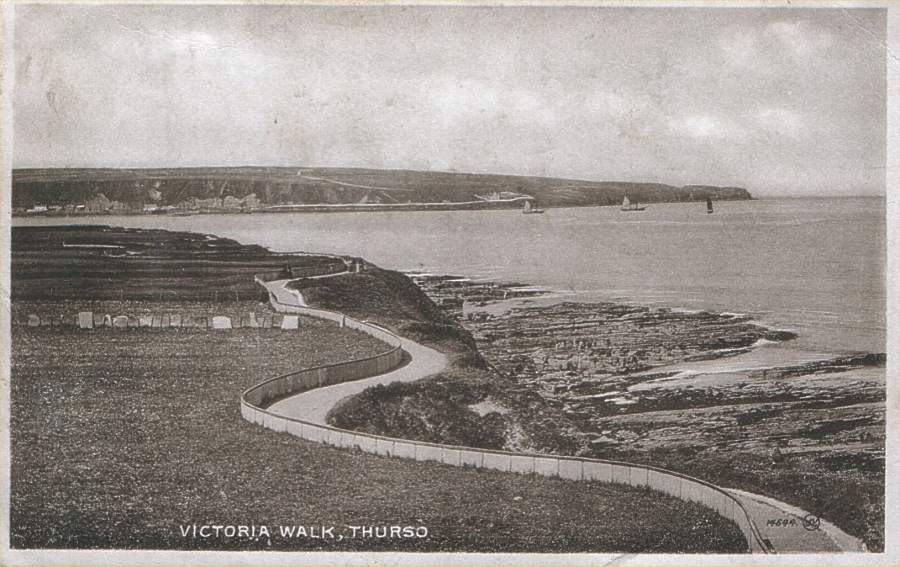 Photo: Victoria Walk, Thurso - Posted 15 August 1934